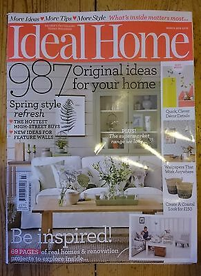 Ideal Home Magazine March 2016.