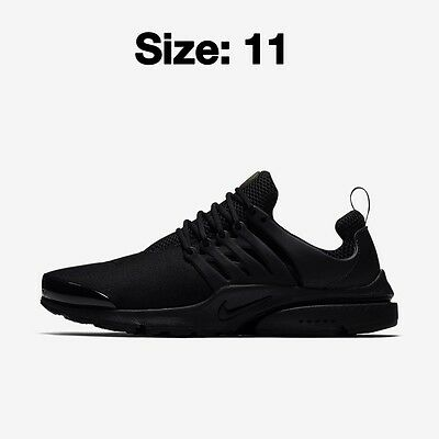 Nike Air Presto Shoes Trainers Black 100% Genuine!! SIZE UK 11