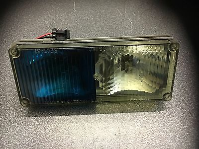 TOMAR RECT 37 Strobe / Halo... Clear/Blue FITS & Replaces WHELEN 700 Series