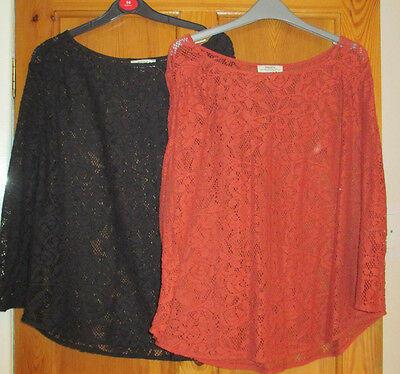 Ladies Tops (2 Items)  Size 18.