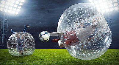 """1.0m 1.2m 1.5m 40""""/48""""/59"""" Inflatable Bumper Soccer Ball Bubble Ball Blower Up"""