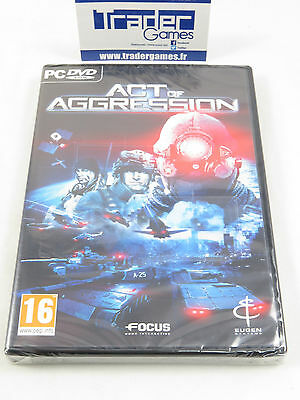 Brand New Neuf  Act Of Aggression Pc Dvd Rom French