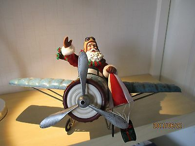 Large Father Christmas Ornament