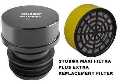 Studor Maxi Filtra + Replacement Filter SEPTIC TANK DRAIN SMELL CARBON 20297