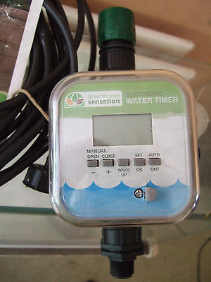 Click and Drip Greenhouse Sensation Electronic Water Butt Timer