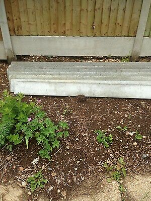 6inch x 6ft concrete gravel boards x 4