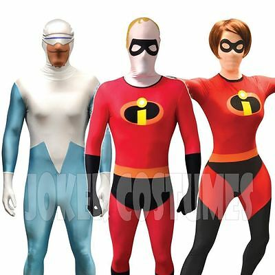 SALE! The Incredibles CHEAP Morphsuit Costume Mrs Incredible Elastigirl Frozone