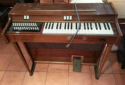 Vintage Lincoln Chordmaster Chord Organ *not working*