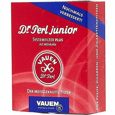 Vauen Jubox Filter 40er Packung, 9mm Pfeifenfilter Pfeife Filter Systemfilter
