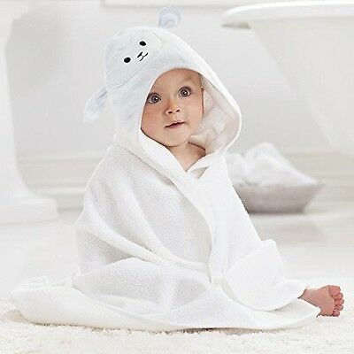 Baby Bath Towel with Hood Door Hanger Toddler Hooded Bathing Robe Infant Robes
