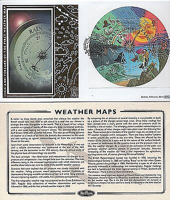 "2001 ""The Weather"" sg MS2201 Limited Edition Benham ""GOLD"" First Day Cover"