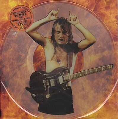 "AC / DC  Highway to hell (Live)  12"" PICTURE DISC + BACKING CARD"