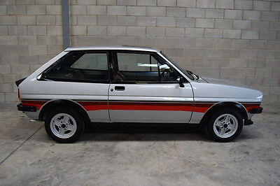 1980 Ford Fiesta Supersport, 28875 Miles And Superb Show Condition