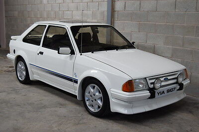 1985 Ford Escort RS Turbo Series 1, Stunning 3 Owner Car With Just 75577 Miles