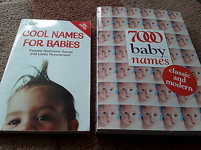 cool baby names & 7000 baby name books