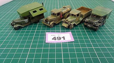 ww2 Military Vehicles Trucks. 1/72 (spares and repairs)