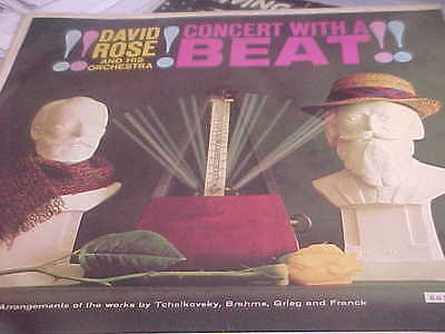 "DAVID ROSE ORCHESTRA: ""Concert with a Beat"" MGM/GERMAN/ORIGINAL"