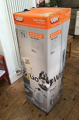 Vax W87RHD Rapide Ultimate Carpet Washer Cleaner