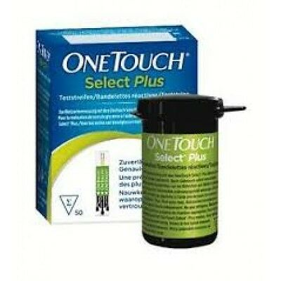 one touch select plus 2 boxes of 50 testing strips