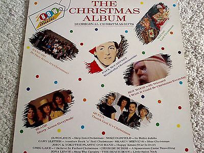 Now Thats What I Call Music ( The Christmas Album ) Near Mint Nox1 1985 Vinyl Lp
