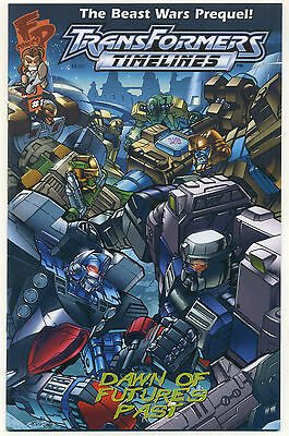 TRANSFORMERS TIMELINES #1; 2006 VF/NM DAWN OF FUTURE'S PAST Diamond Edition