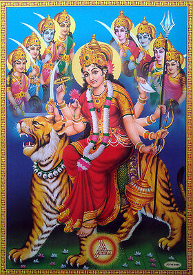 "Durga Maa Avatars - Great POSTER (Big Size 20""x28"")"