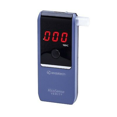 Andatech Alcosense Verity Personal Breathalyser Alcohol Tester Breath Test