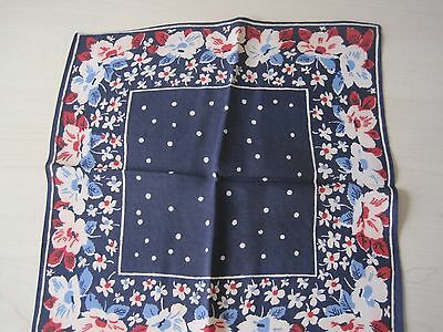Vintage handkerchief 1940's rare and very collectable