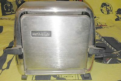 Vintage HOTPOINT Flip Side Toaster in unbelievable condition working with lead.