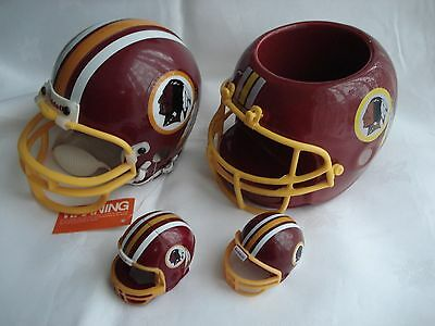 NFL Washington Redskins American Football Replica Helmets joblot Mini - Snack