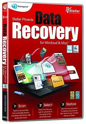 Stellar Phoenix Data Recovery For Pc And Mac Restore Lost Files New 3 Easy Steps