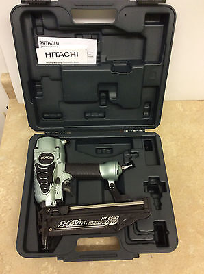 "Hitachi 2-12"" Pneumatic Finish Nailer 16 Gauge in case NT 65M2S NT 65M2"
