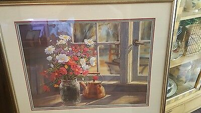 """""""Dea's Gift"""" JIM GRAY SIGNED AND NUMBERED framed and matted print"""
