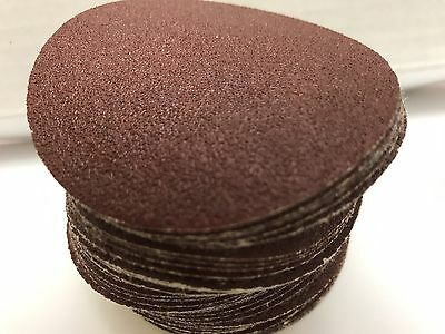 "80 Grit, KEEN ABRASIVES 33320, 3"" Dia Hook & Loop Sandpaper, 50 Pk"