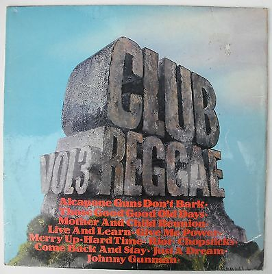 Various Artists – Club Reggae Vol.3 (Uk 1972 Trojan Lp)