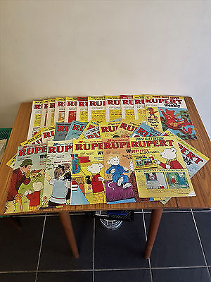 Rupert Bear Weekly Comics *27* In Great Condition!