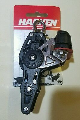 Harken Carbo Airblock Fiddle 40 mm with cam and becket #2658