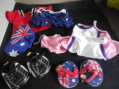 Babw/stufflers Bear Clothing/shoes Tennis/australia/manchester United Build Bear
