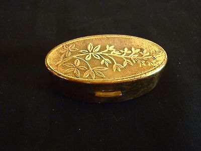 A Vintage 1950's Max Factor Lipstick Holder Mirrored Compact
