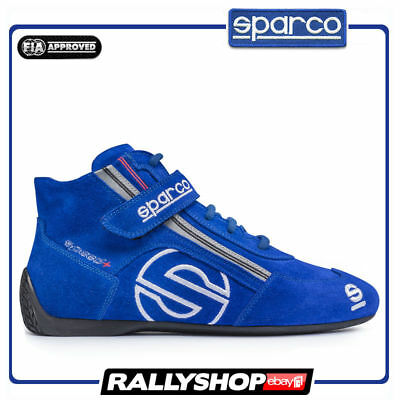 FIA Shoes SPARCO SPEED+ SL-3 Size 41 Racing SL3 Boots Race Black Rally Blue