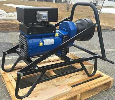 15 kW PTO Generator w/ 3-Point Hitch + Receptacle Panel