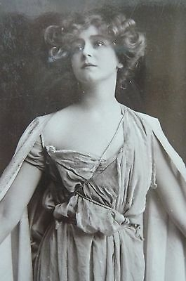 Edwardian Actress Miss Gabrielle Ray Postcard Posted 1906