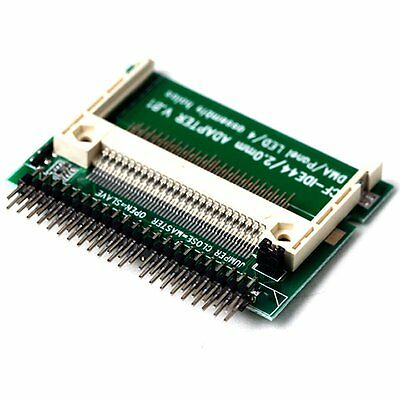 IDE 44 Pin Male to CF Compact Flash Male Adapter Connector BT G7C3