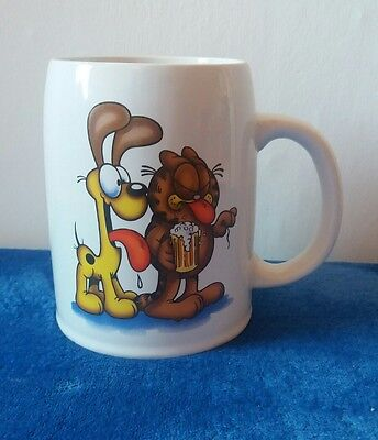 Garfield The Cat Hair of the Dog large mug vintage Odie Jim Davis Cartoon