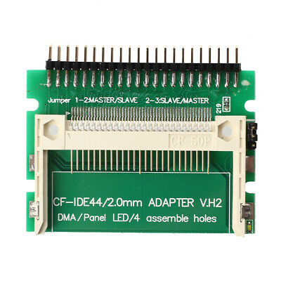 Pin-bare Laptop 44-Pin Male IDE To CF Card Adapter BT U6S6
