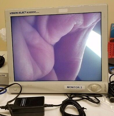"Stryker Vision Elect 21"" Flat Panel Monitor Inv 2578"
