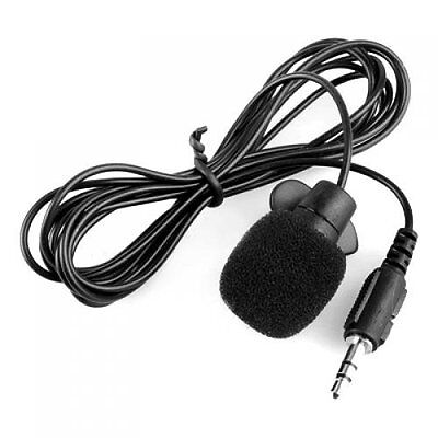 3.5mm Clip on Lapel Microphone for PC Laptop BT T2E7