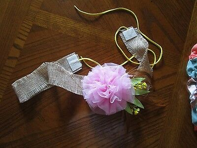 MATILDA JANE  Rustic Wrap head band/HAIR PIECE/can be used as a belt--One Size-