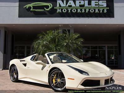 2016 Ferrari Other  2016 Ferrari 488 Spider Automatic 2-Door Convertible