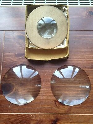 Vintage Solid Glass Photography Magnifying Glasses Two 11.4 One 5.5cm